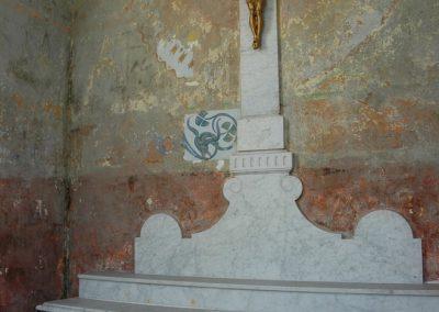Kaplica A. i K. Juttnerów,   (wnętrze)