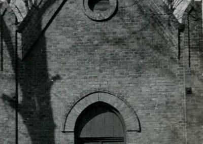 Kaplica cmentarna.