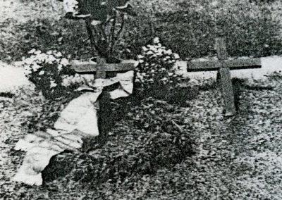 Kwatery wojenne z lat 1939-1945.